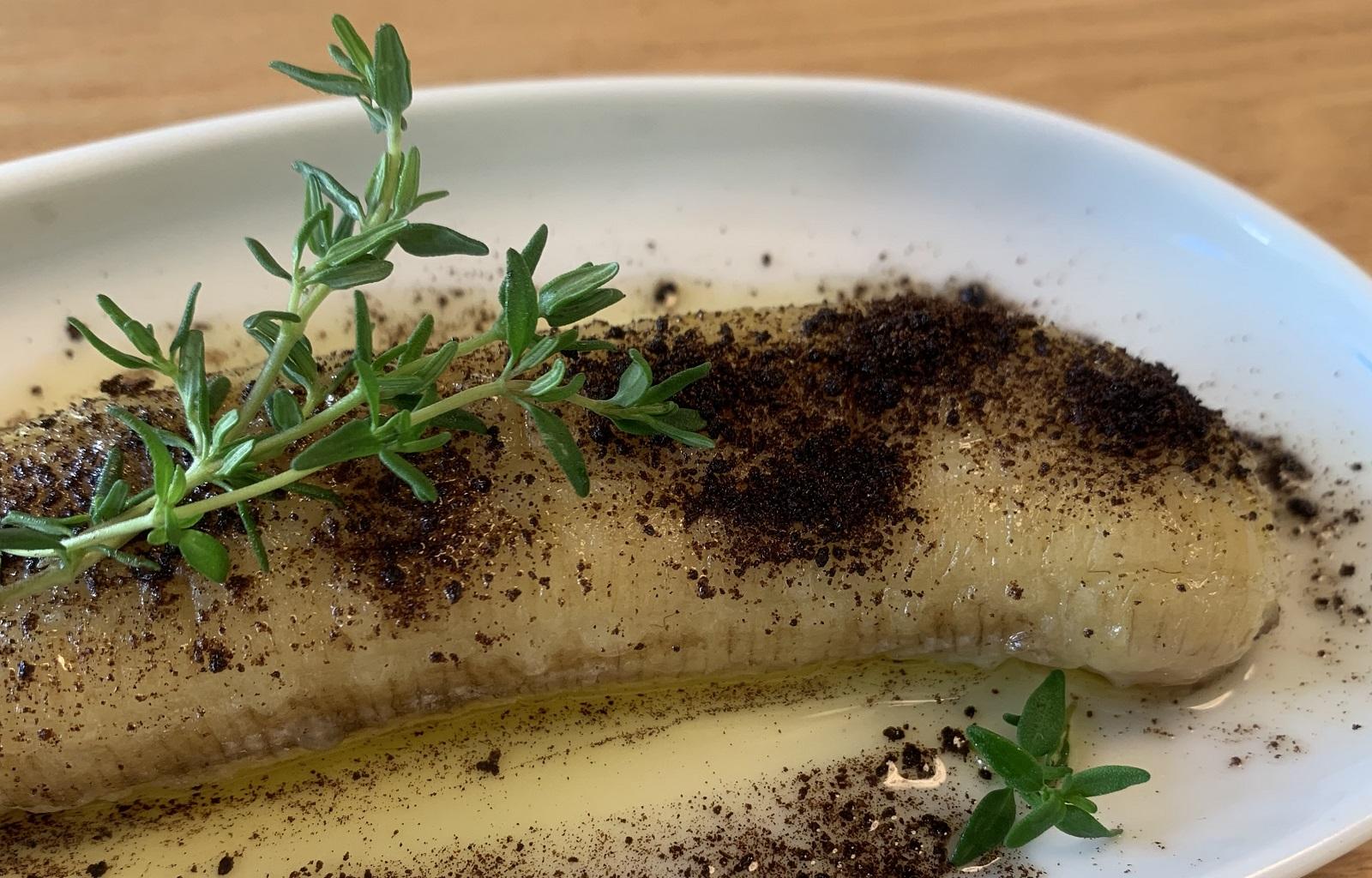 Rezept: Karamellisierte Banane mit Vanille und Thymian