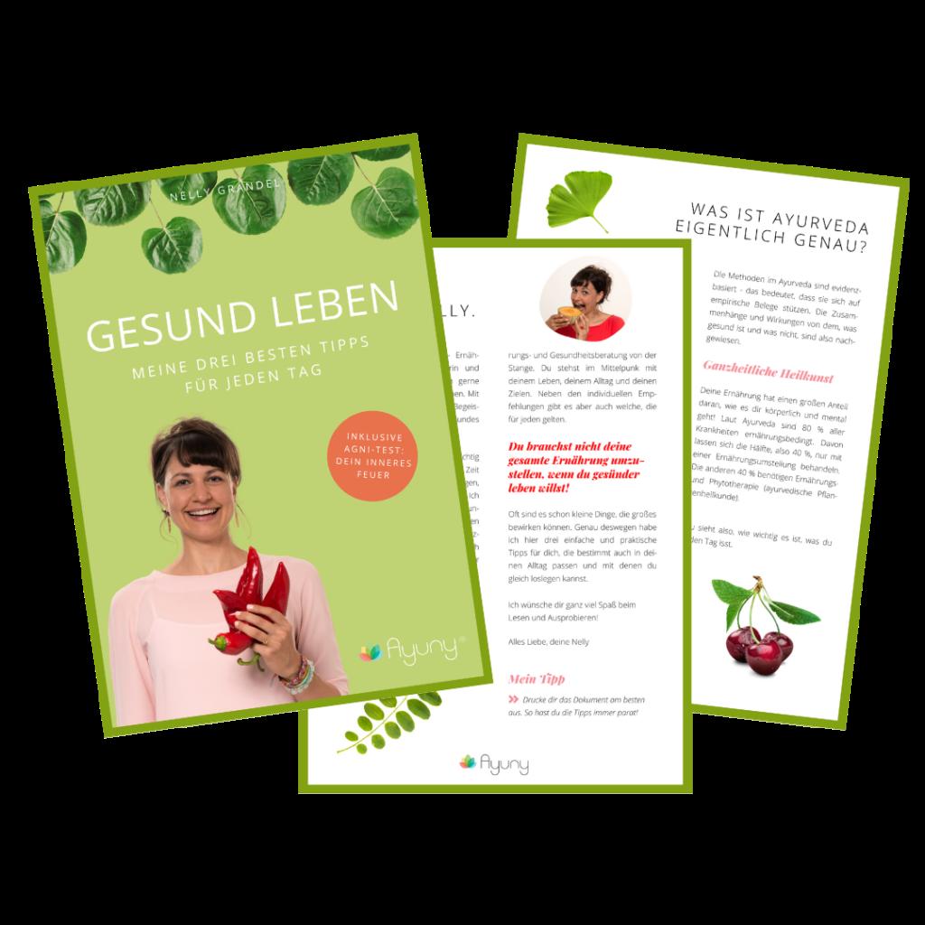 """Mein neues E-Book """"GESUND LEBEN"""""""